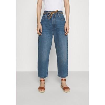 リーバイス メイド アンド クラフテッド デニムパンツ レディース ボトムス BARREL - Relaxed fit jeans - lmc provincial blue