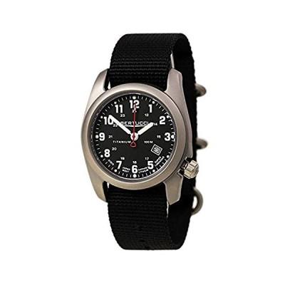 Military Watches Bundle: Bertucci A-2T Super Classic Black - Black Nylon - w/Sapphire & Cap 並行輸入品