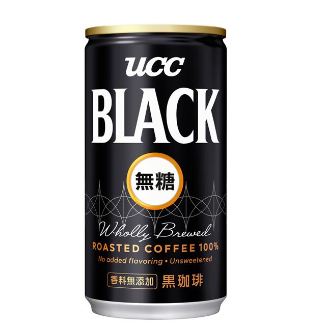 《UCC》無糖咖啡飲料185g(30入/箱)