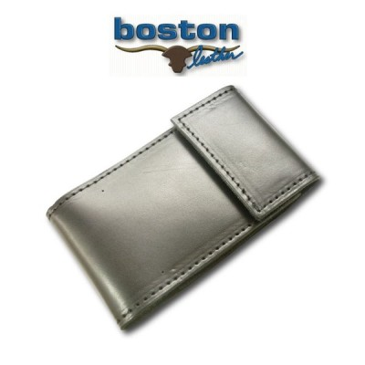 BOSTON LEATHER I PHONE HOLDERボストン・レザー アイフォン ホルダー[PHONE HOLDER(PLAIN BLACK)]