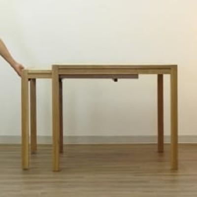 ダイニングテーブル Schroll850-ho 大川市 伸長式 WAプラス