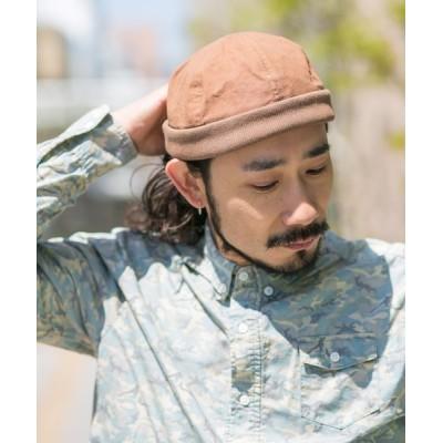 Shop無 / コットン&リブフィッシャーマン MEN 帽子 > キャップ