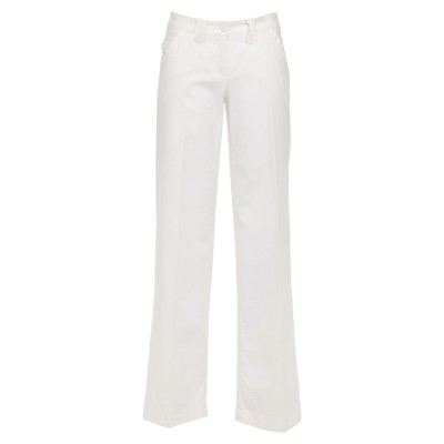 PESERICO SIGN パンツ ホワイト 40 コットン 98% / ポリウレタン® 2% パンツ