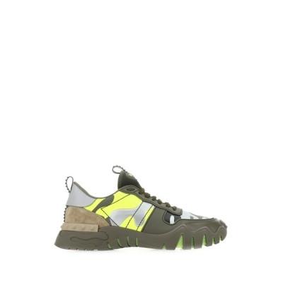 ヴァレンティノ メンズ スニーカー シューズ Valentino Garavani Rockstud Camouflage Sneakers -