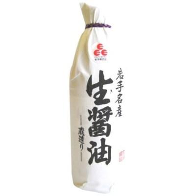 佐々長醸造 岩手名産 生醤油 500ml
