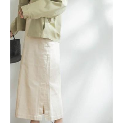 URBAN RESEARCH DOORS / アーバンリサーチ ドアーズ FORK&SPOON サイドベンツストレートスカート