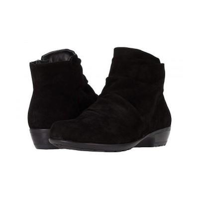 Walking Cradles ウォーキングクレイドル レディース 女性用 シューズ 靴 ブーツ アンクル ショートブーツ Esme - Black Suede