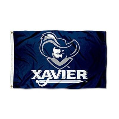 Xavier Musketeers XU University Large Collegeフラグ