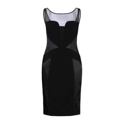 RICHMOND X ミニワンピース&ドレス ブラック 44 ポリエステル 92% / ポリウレタン 8% ミニワンピース&ドレス