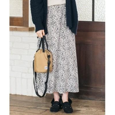 【エニィスィス/any SiS】 【L'aube】レオパードマーメイド スカート
