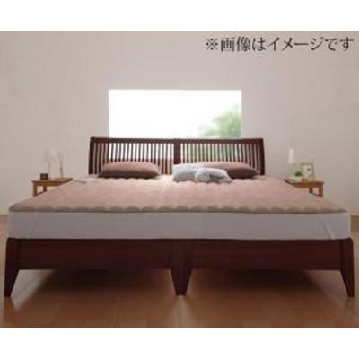 寝心地・カラー・タイプが選べる 大きいサイズのパッド・シーツ シリーズ 敷きパッド マイクロファイバー中わたボリュームアップ ファミリー