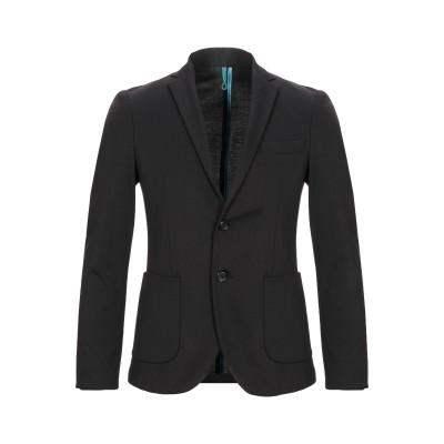 ベルナ BERNA テーラードジャケット ブラック 46 ポリエステル 67% / レーヨン 28% / ポリウレタン 5% テーラードジャケット