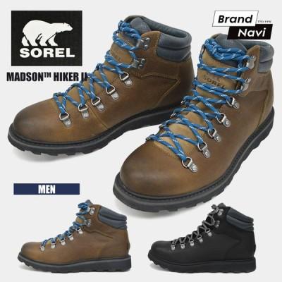 【サイズ交換1回無料】ソレル SOREL MADSON HIKER 2 NM3849 メンズ 紳士 男性 雪 ブーツ NL2079 マディソンハイカー ウィンターブーツ 防滑