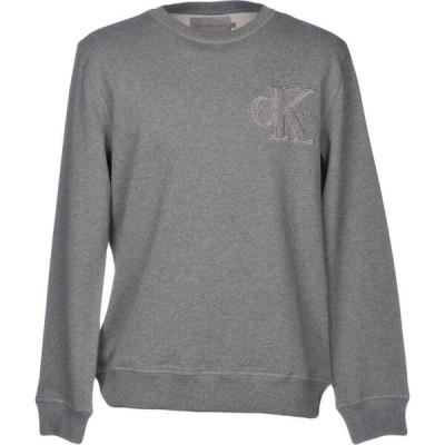 カルバンクライン CALVIN KLEIN JEANS メンズ スウェット・トレーナー トップス Sweatshirt Grey