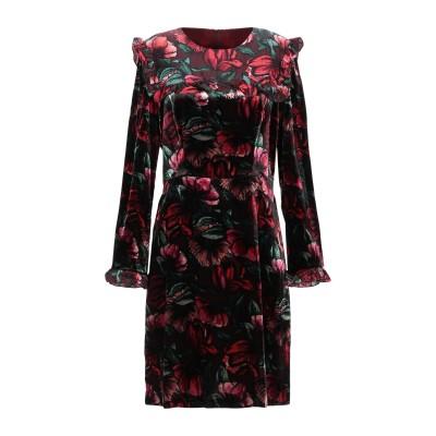 SANDRO ミニワンピース&ドレス ボルドー 36 レーヨン 76% / ナイロン 24% / シルク / ポリエステル ミニワンピース&ドレス