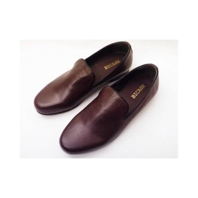ビカーシ BICASH オペラスリッポン No.049 ダークブラウン MEN'S 靴