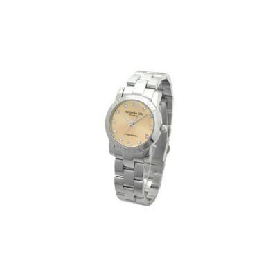 Alessandra Olla アレサンドラオーラ 腕時計 ラウンドフェイス レディースウォッチ AO-715 ピンクゴールド