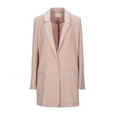 VICOLO テーラードジャケット ベージュ S ポリエステル 100% テーラードジャケット