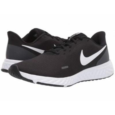 Nike ナイキ メンズ 男性用 シューズ 靴 スニーカー 運動靴 Revolution 5 Black/White/Anthracite【送料無料】