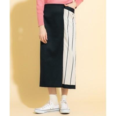 スカート ラップタイトスカート