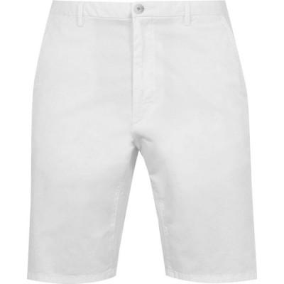 ヒューゴ ボス Hugo メンズ ショートパンツ ボトムス・パンツ Boss Chino Shorts White