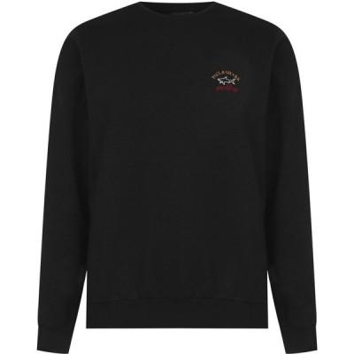 ポールアンドシャーク Paul And Shark Crew メンズ スウェット・トレーナー トップス Basic Sweatshirt Black