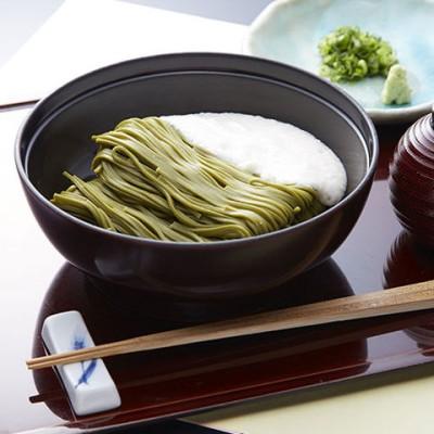 ★浅草むぎとろ 冷凍とろろ茶そばセット