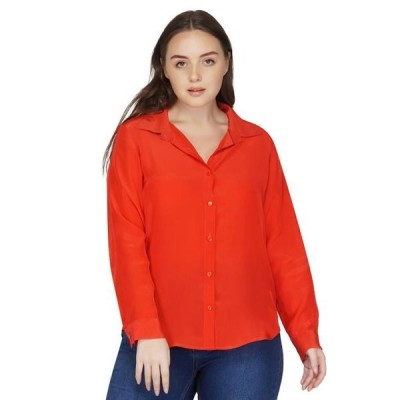 ユニセックス 衣類 トップス Red Button Down Shirt ブラウス&シャツ