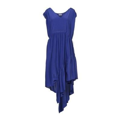 BY MALENE BIRGER シルクドレス ファッション  レディースファッション  ドレス、ブライダル  パーティドレス パープル