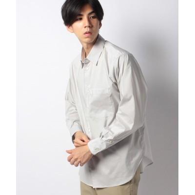 【チャオパニック】 プラチナツイスターベーシックBIGシャツ メンズ グレー L Ciaopanic
