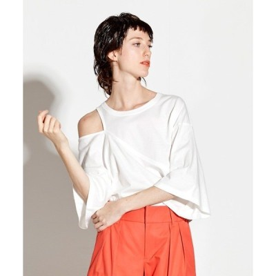 tシャツ Tシャツ Asymmetry tops