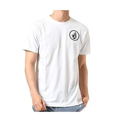 ボルコム メンズ 半袖 ラッシュガード Tシャツ (高機能CARVICO) N01119G0 / Apac Circle S/S RG 海