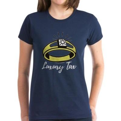 レディース 衣類 トップス CafePress - Monopoly Luxury Tax Women's Classic T Shirt - Women's Dark T-Shirt Tシャツ