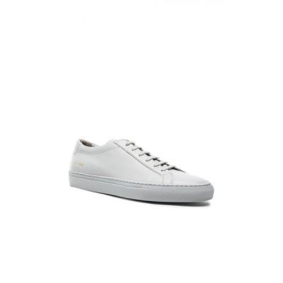 コモン プロジェクト Common Projects メンズ スニーカー シューズ・靴 Original Leather Achilles Low Grey