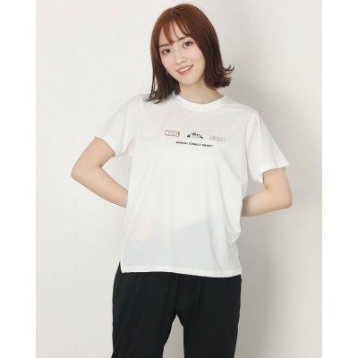 ディズニー Disney レディース 半袖機能Tシャツ MV-9A22001TS (ホワイト)