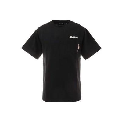 エクストララージ(XLARGE) ポケットTシャツ PATTI 101212011025-BLACK (メンズ)