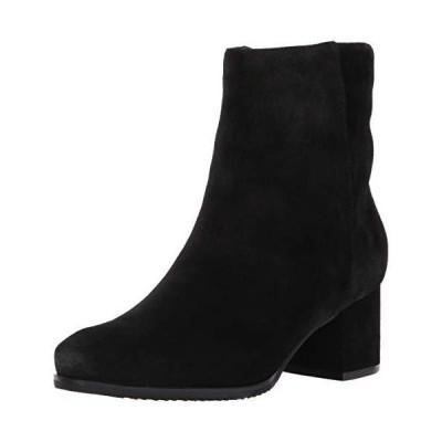 Blondo Women's Alida Ankle Boot, Black Suede, 6 M US【並行輸入品】