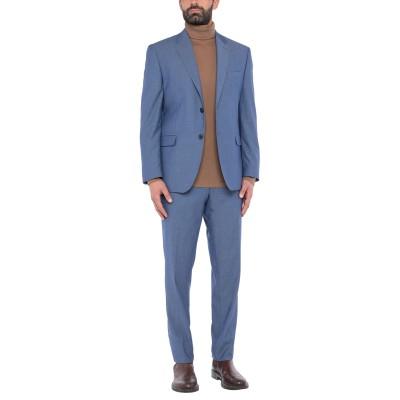 ALESSANDRO GILLES スーツ ブルーグレー 56 ウール 68% / レーヨン 30% / ポリウレタン 2% スーツ