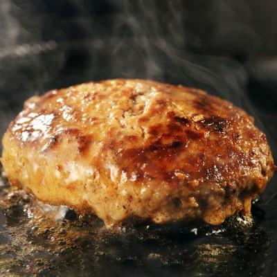[トヨニシファーム]豊西牛100%ビーフハンバーグセット 洋惣菜・スープ