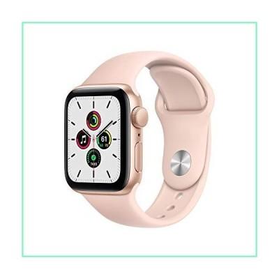 Apple Watch SE (GPS、40mm) - ゴールドアルミニウムケース ピンクサンドスポーツバンド【並行輸入品】