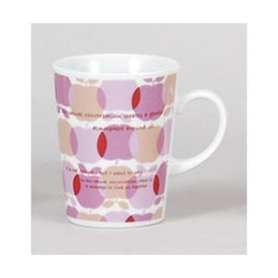 マグカップ アップルマグピンク [10.6 x 7.5 x 9.6cm 200cc]  料亭 旅館 和食器 飲食店 業務用