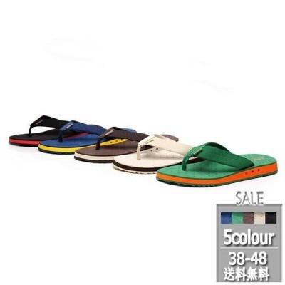 メンズビーチサンダル トングサンダル おしゃれ 夏 タウン用 スキッド ビーチ 履きやすい 海 軽量 2020新作 メンズファッション