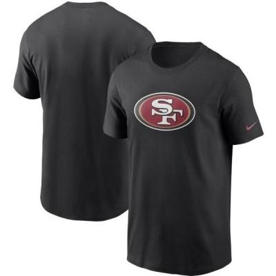 ユニセックス スポーツリーグ フットボール San Francisco 49ers Nike Primary Logo T-Shirt - Black Tシャツ