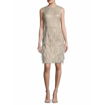 デイビッドマイスター レディース ワンピース Embellished Sheath Dress