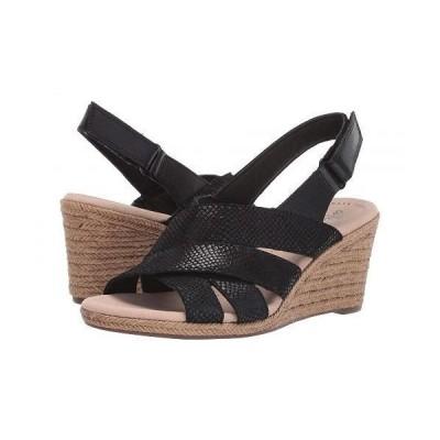 Clarks クラークス レディース 女性用 シューズ 靴 ヒール Lafley Krissy - Black Suede/Leather Combi