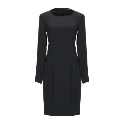 GAS ミニワンピース&ドレス ブラック S ポリエステル 63% / レーヨン 33% / ポリウレタン 4% ミニワンピース&ドレス