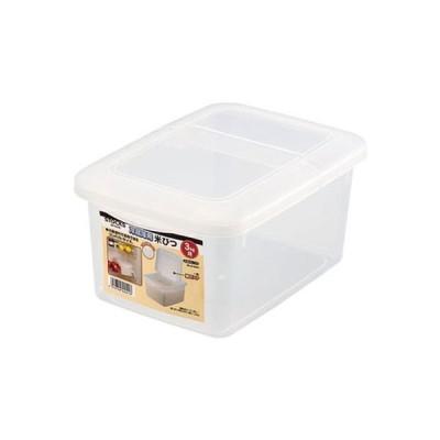 パール金属 ストックス 冷蔵庫用米びつ3kg用(計量カップ付) H-5541 606477 1個(直送品)