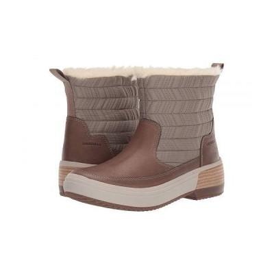 Merrell メレル レディース 女性用 シューズ 靴 ブーツ スノーブーツ Haven Bluff Polar Waterproof - Brindle