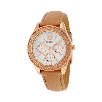 腕時計 ウォッチ フォッシル Fossil Stella マルチファンクション シルバー ダイヤル レディース 腕時計 ES3816