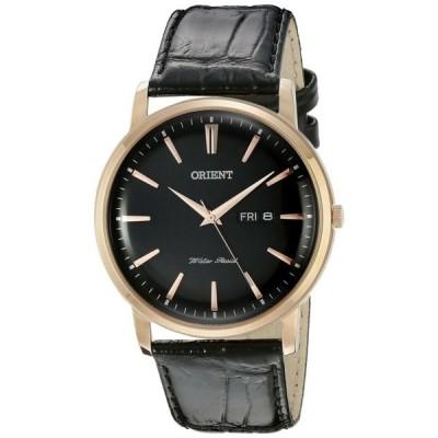 腕時計 オリエント メンズ  Orient Men's FUG1R004B0 Capital Analog Display Japanese Quartz Black Watch
